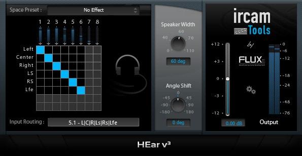 Ircam HEar v3 - Flux::