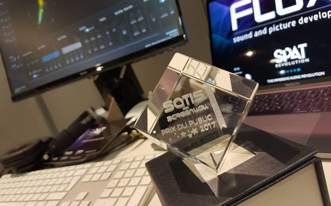 SPAT REVOLUTION Prix du public au SATIS 2017