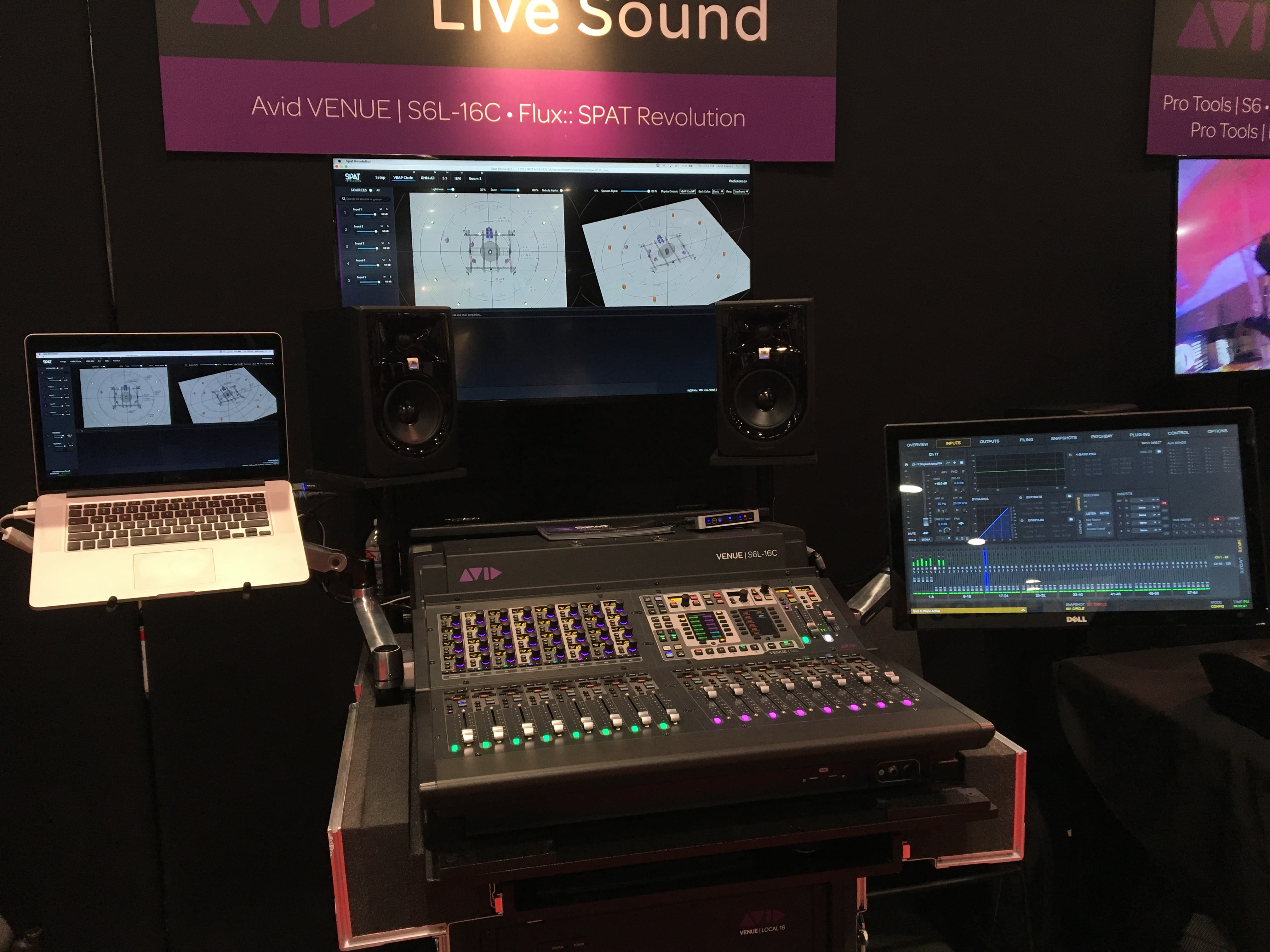 SPAT Revolution Integrated with Avid VENUE | S6L system