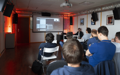 SPAT Revolution workshop with French partner Freevox