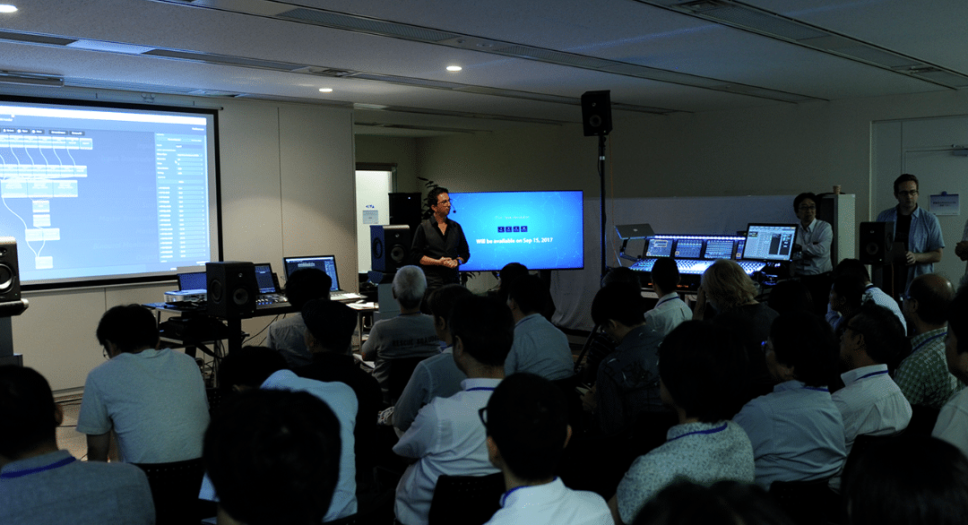 SPAT Revolution – AES 2018, Tokyo, Japan – August 7th-9th