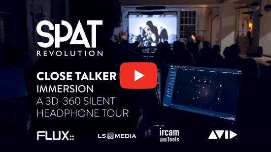 Close Talker – Immersion: A silent concert in binaural audio