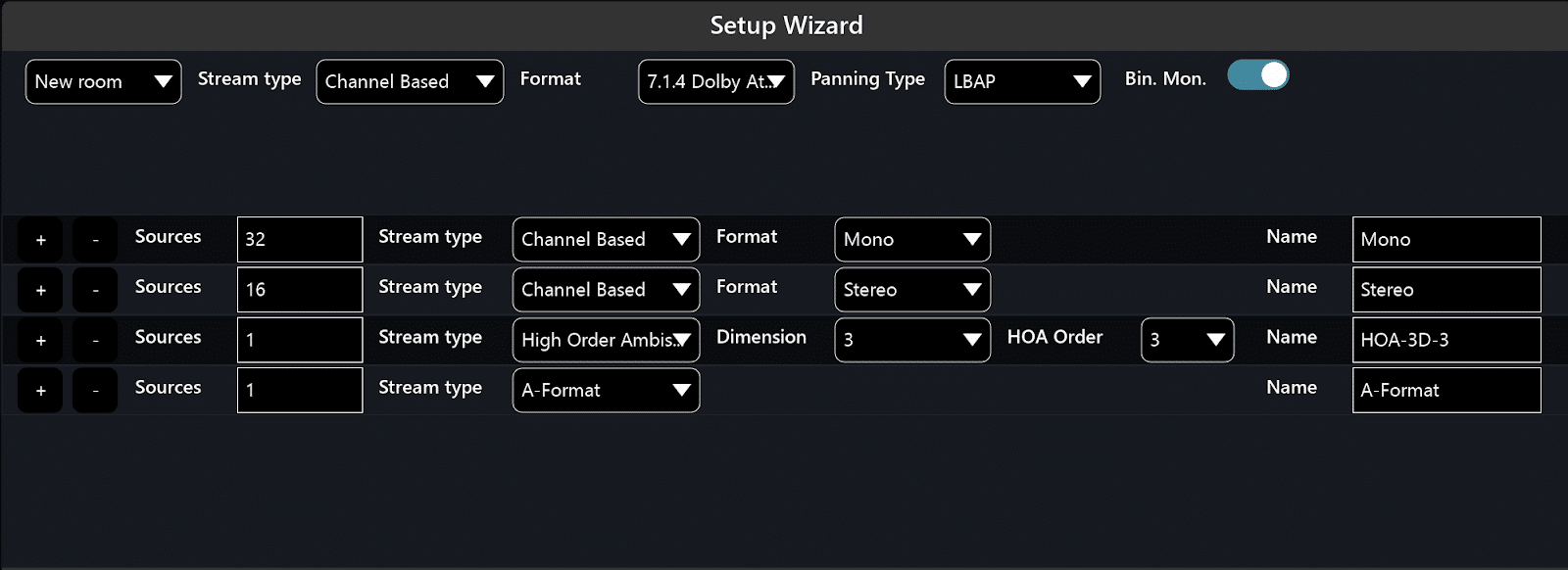 Setup Wizardry