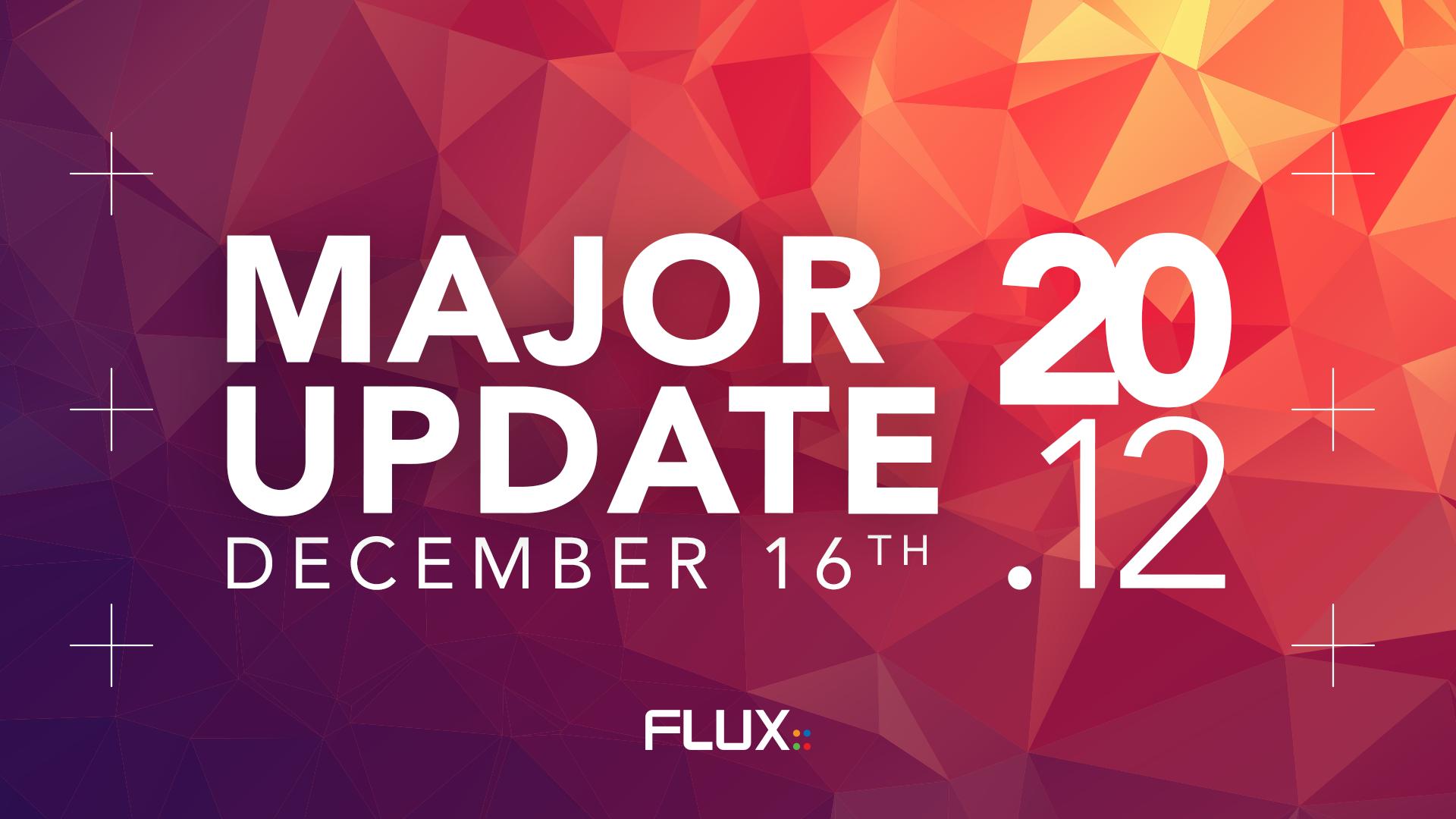 Major Update v20.12