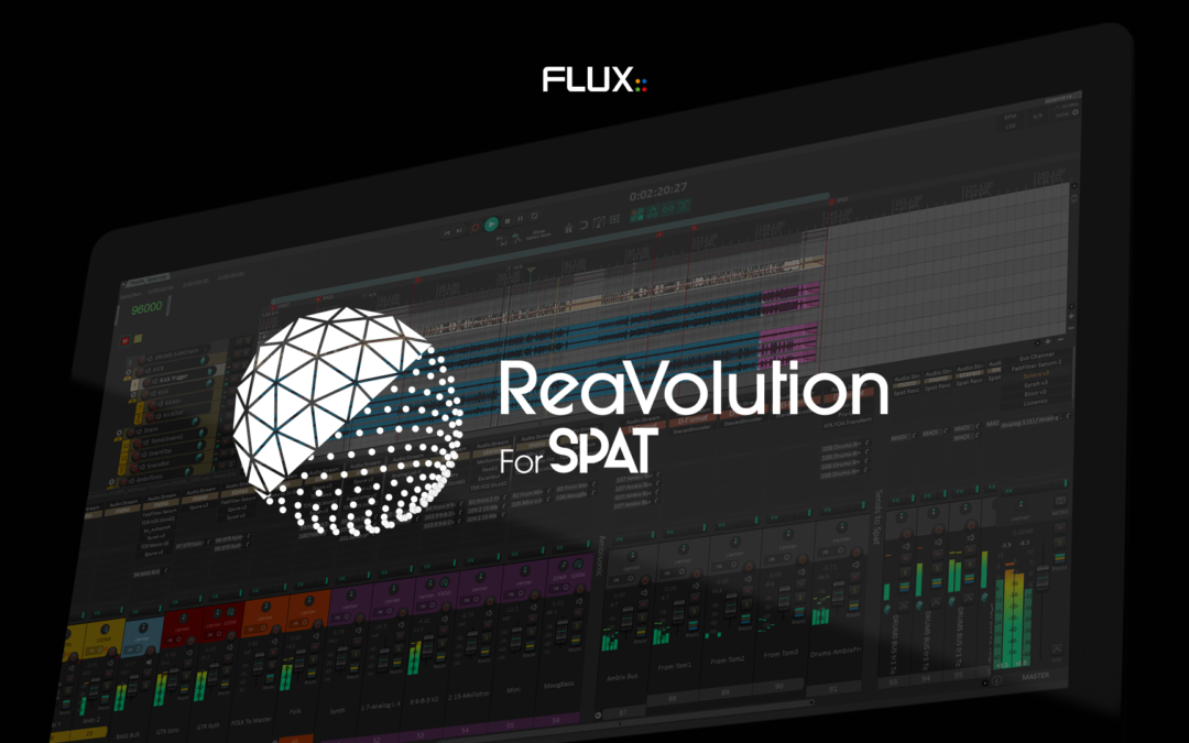 Introducing ReaVolution – Integrating SPAT Revolution with Reaper