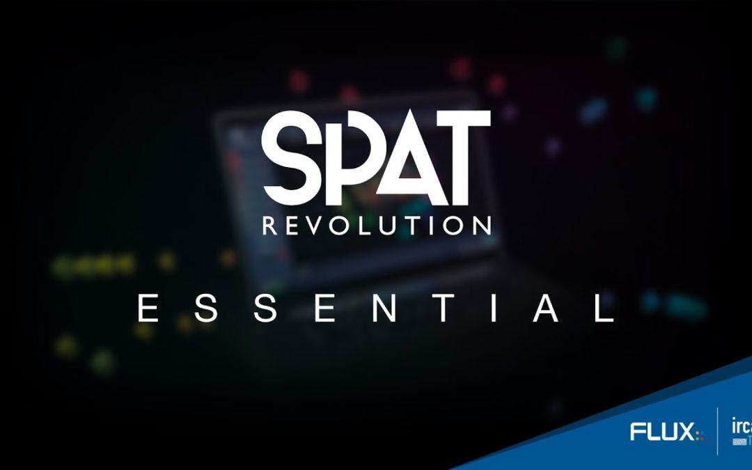 FLUX:: Immersive introduces SPAT Revolution Essential