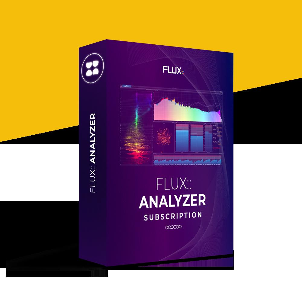 FLUX:: Analyzer Subscription
