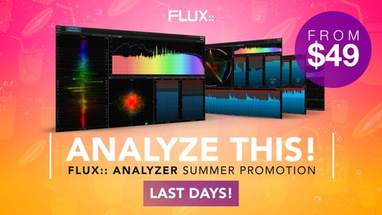 Analyzer Summer Promotion